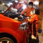 キッザニア甲子園 自動車整備士 オートバックス カーライフサポートセンター