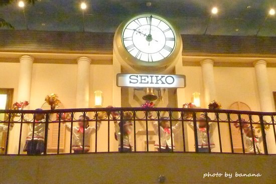 キッザニア甲子園 街時計 ポンポン