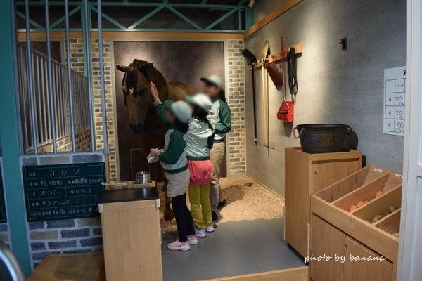 キッザニア甲子園 厩務員 馬のお世話