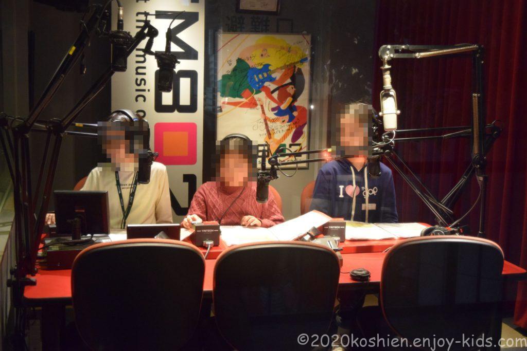 キッザニア甲子園 ラジオ局 FM802
